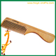 hair dye comb cheap salon promotion hair comb made of wood