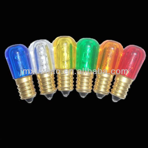 Ce 14v colorato papaia e14 b19 led lampadine di for Lampadine led 5 watt