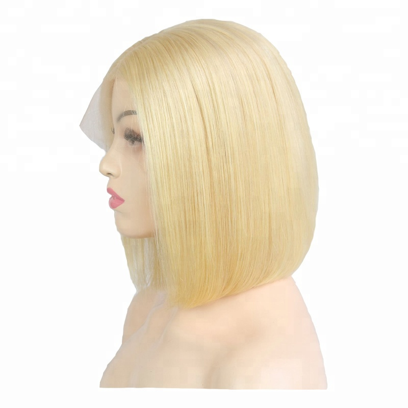 Joywigs transparent lace wig short blonde bob wig lace front wig for women фото