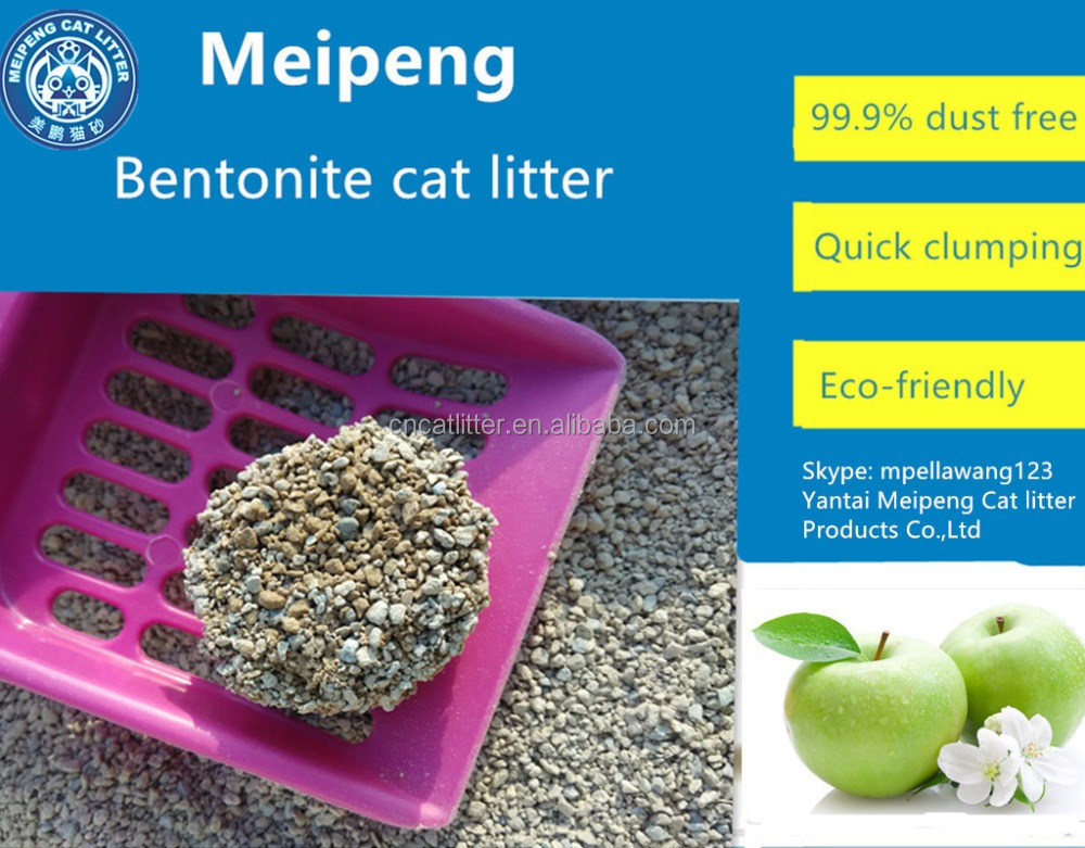 Best Cleaning lemon fragrance pet litter bentonite cat litter sand