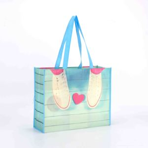 Hot sale recyclable pp non woven shopping bag