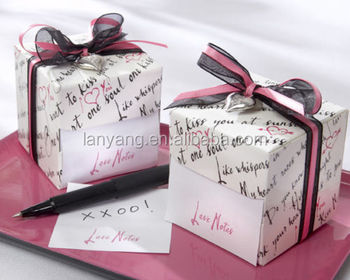 Wholesale Love Notes Sticky Notes In Nostalgic Dispenser Gift Box