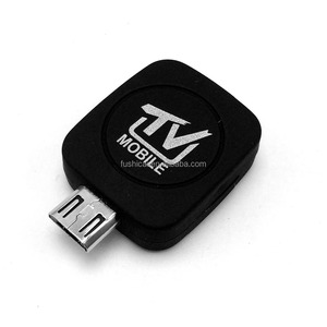 Android 4.0 smart Dvb-T/ISDB-T HD TV dongle with remote TV receiver stick for Android phone Tablets