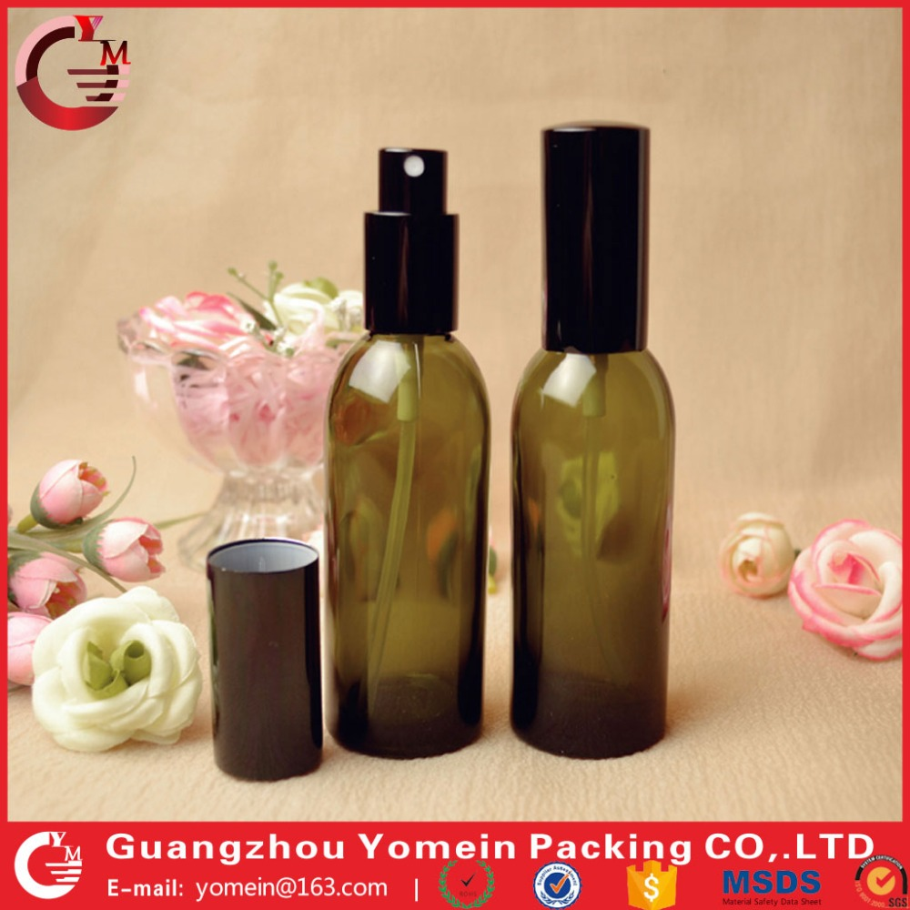 wholesale glass personal care spray bottles essential oil glass pump bottle