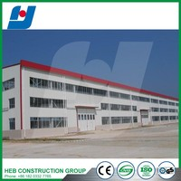Prefabricated Light Structural Steel Workshop & Plant