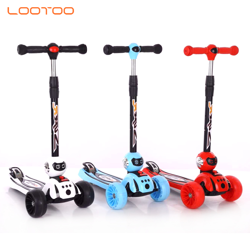 China manufacturer hot sale cheap price 3 wheel kids kick scooters for 4 year old boy