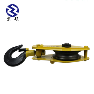 swivel stainless steel wire rope pulley block