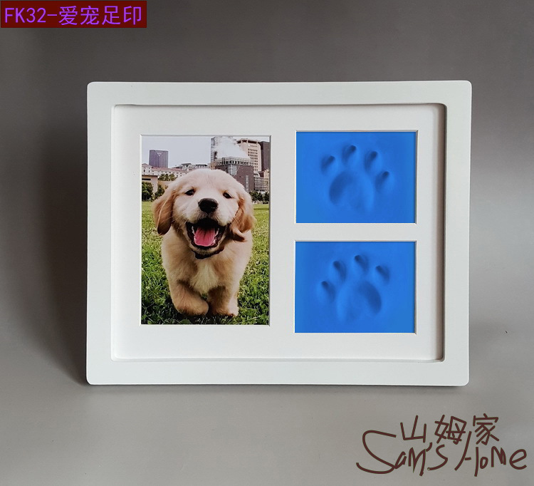 Personalized Pet Memorial Frames With Paw Print Pet Keepsake - Buy ...