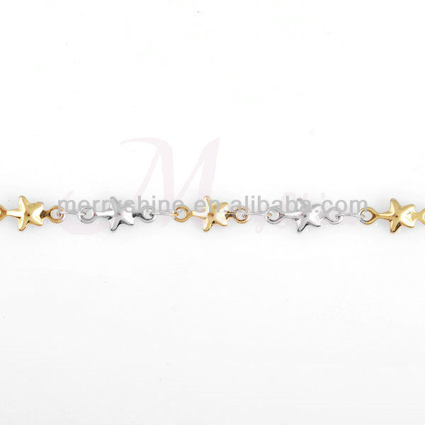 "New arrival hottest waist chain belly chain 31-33"" 18k gold star body chain jewelry for woman FRB02"