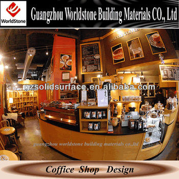 guangzhou small coffee shop counters design for sale buy