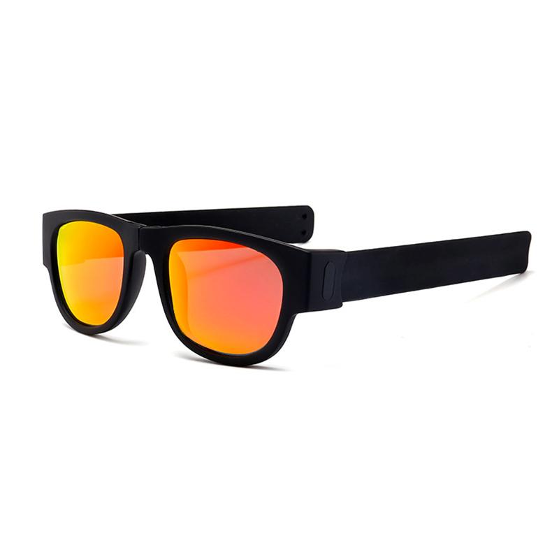 2019 New Trendy KDEAM Foldable Men Fashion Polarized Sunglasses Folding Women Coating UV400 Sun Glasses