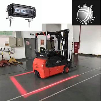 10 80v Led Forklift Red No Go Danger Zone Line Beam