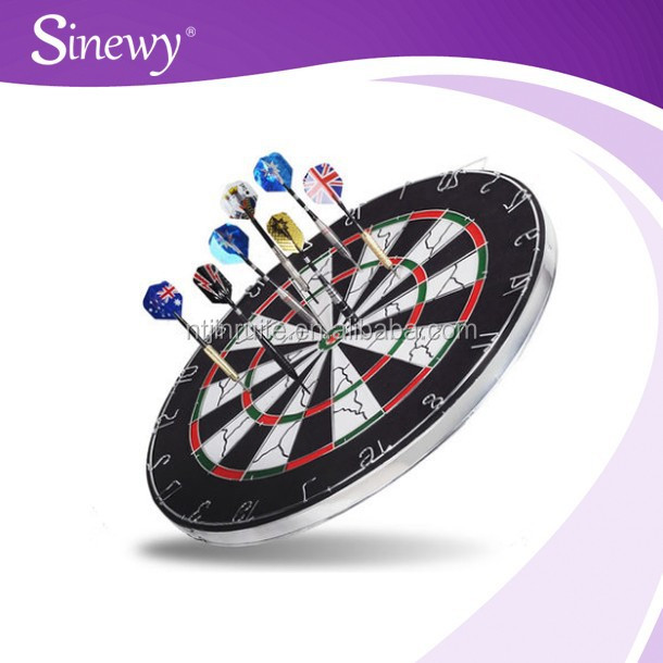 High Quality Flocked Dartboards Round Cheap