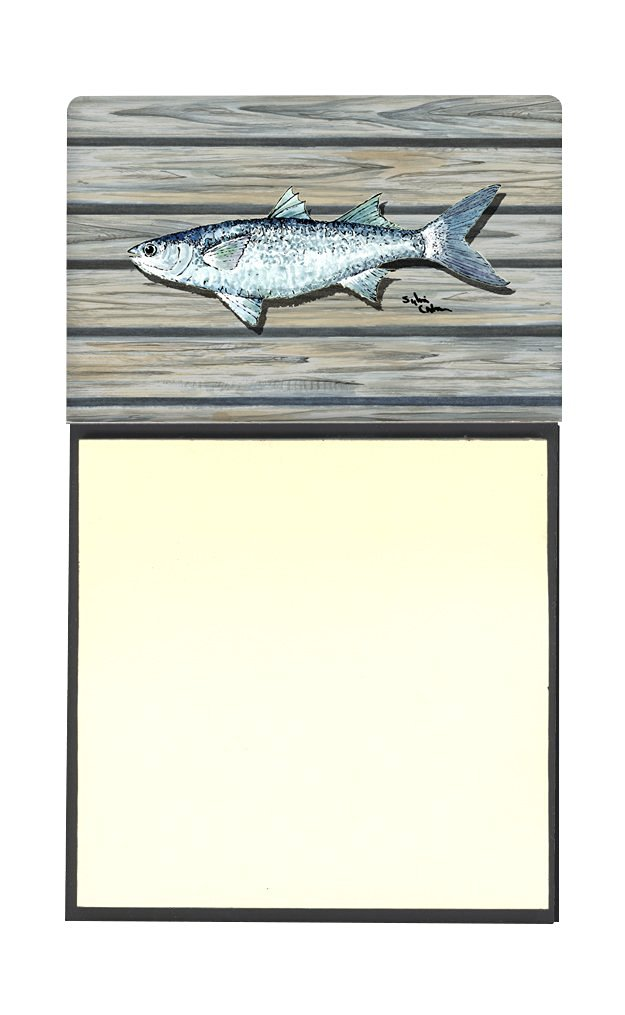 Carolines Treasures Fish-Red Fish Alphonzo Refillable Sticky Note Holder or Postit Note Dispenser 3.25 by 5.5 Multicolor
