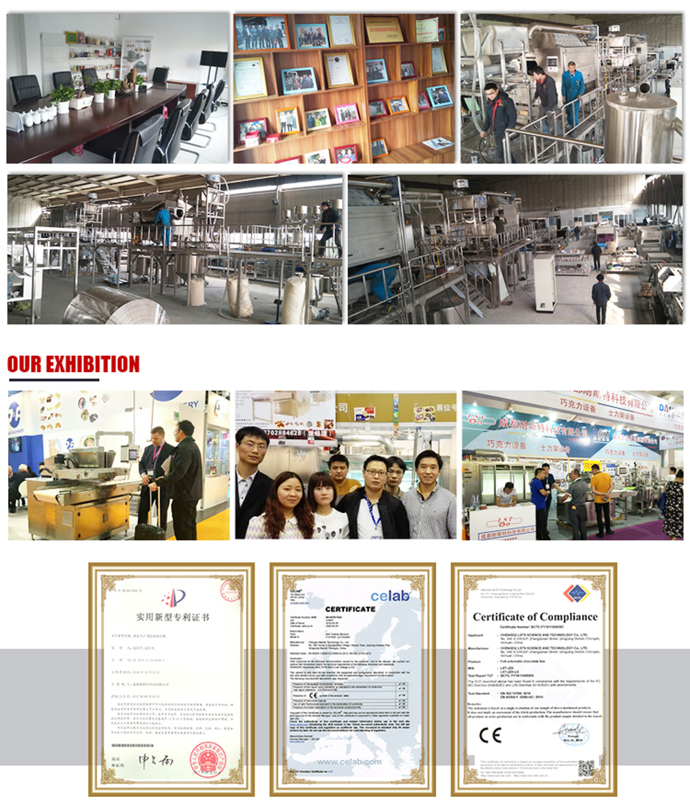 China High Quality And Best Price Chocolate Manufacturing Equipment Plastic Mould Chocolate