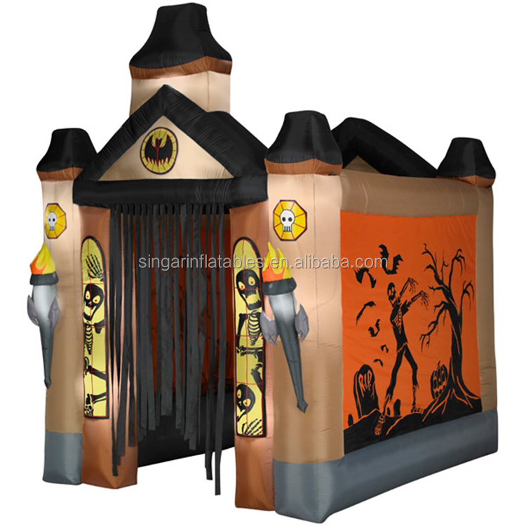 halloween inflatable haunted house,inflatable halloween decoration