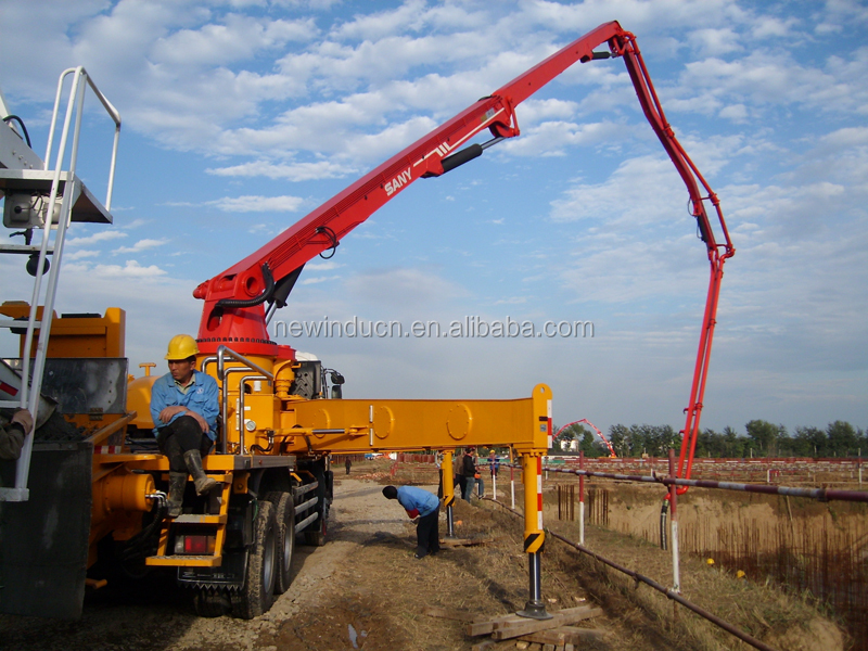SANY 38m tuck-mounted concrete pump SYG5271THB 38 for sale