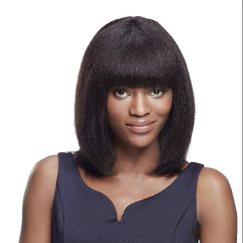 Hot Sale Germany Hair Machine Made Human Hair Wigs For Black Women  Brazilian Remy Straight Human ac13f3707f