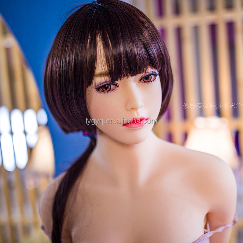 158cm Real Silicone Sex Doll for men 3 <strong>holes</strong> vagina anal real sex doll price china suppliers