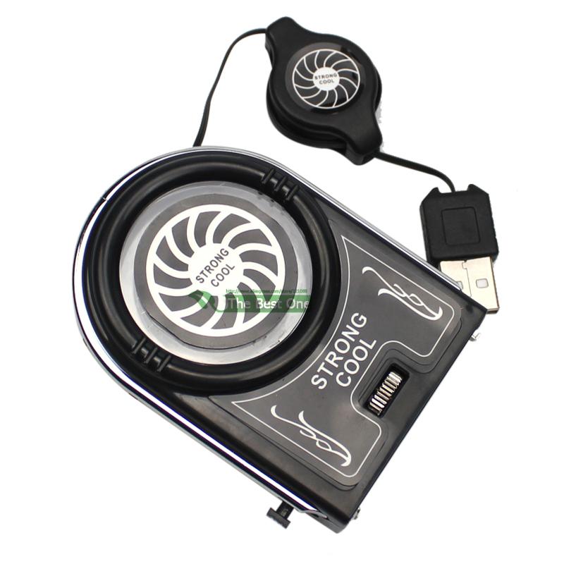 Горячая распродажа кулер мини вакуум сильный прохладный воздух экстракт USB портативный ноутбук охлаждения кулер вентилятор Pad 3 года гарантии + A + качество