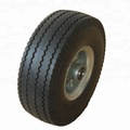 Flat Free Lawn Tractor Wave Tires 4.10/3.50-4