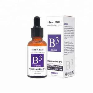 [in stock]natural 5% vitamin b3 niacinamide serum with antioxidants and nutrients for acne care