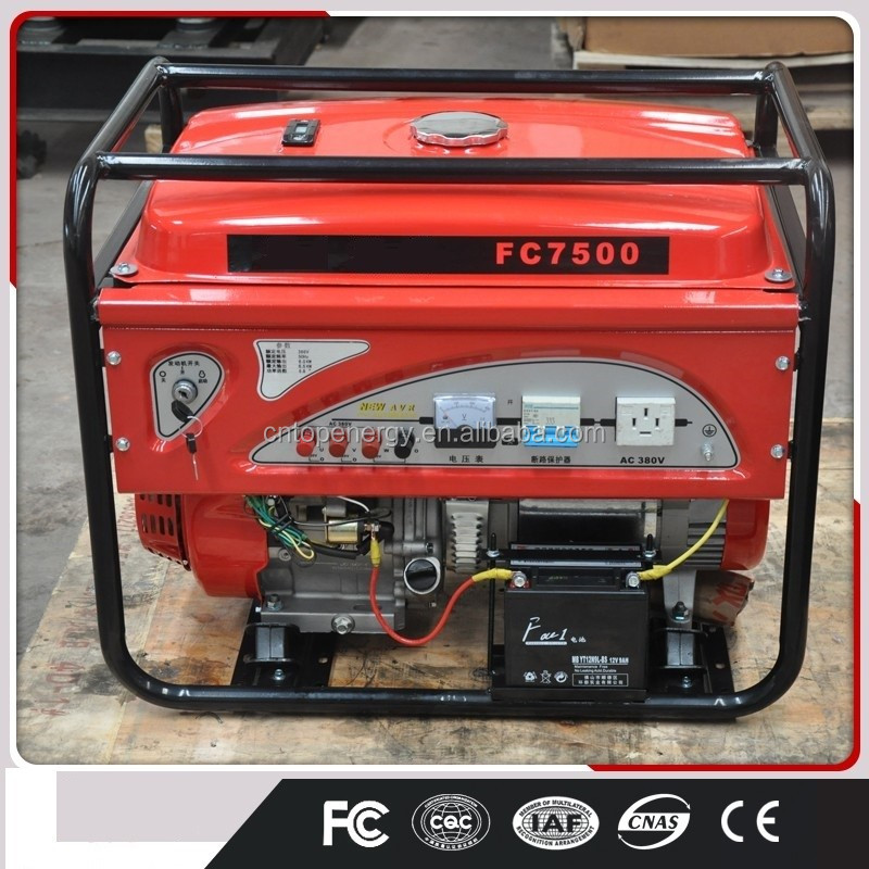 China Supplier Yamaha 5kw Generator Dynamo Prices Single Cylinder ...