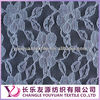 Nylon elastic embroidery lace fabric for selling