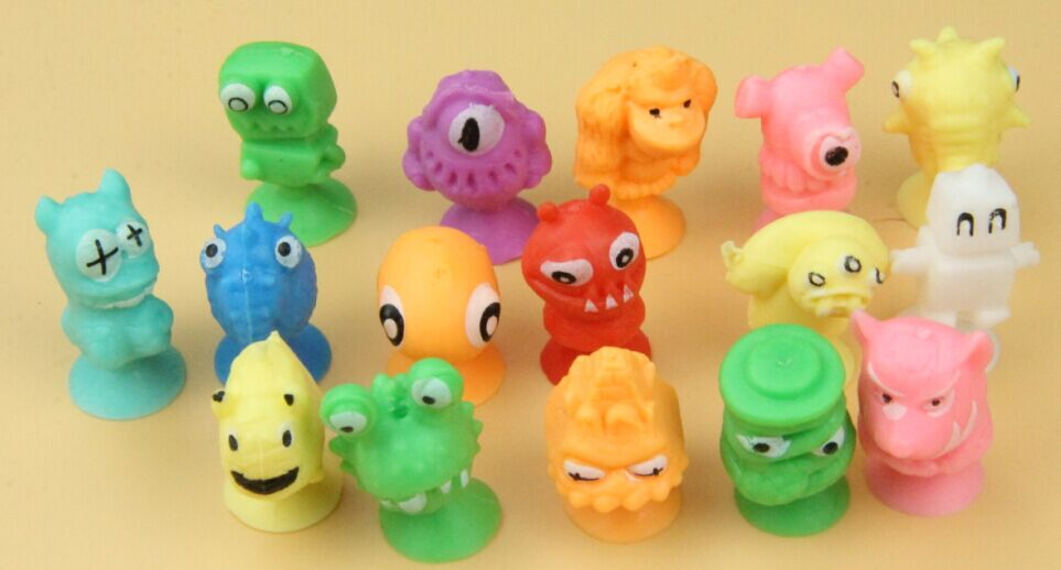 3cm TPR stikeez figure mini toy