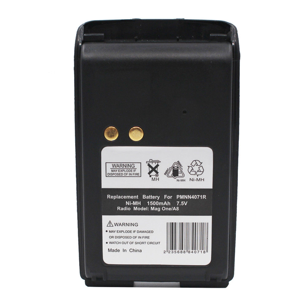 1500mAh Ni-MH 7.5V PMNN4071 Battery for Motorola Mag One BPR40 A8 FAST SHIPPING