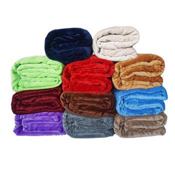 chinese supplier wholesale cheap super soft velvet blanket in stock