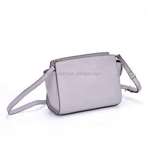 ladies hanging real cow leather single women long handle shoulder bag