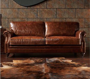 Good Quality Antique Shape Sofa Set Designs Leather Sectional