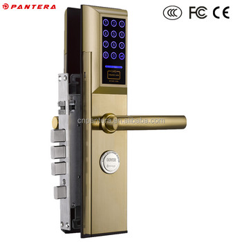 High Class Remote Control Self Locking Door Lock For Wooden Door - Buy Self  Locking Door Lock,Wooden Door Self Locking Door Lock,Remote Control Self