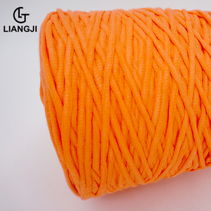 Slub cotton yarn knitted fancy knitting