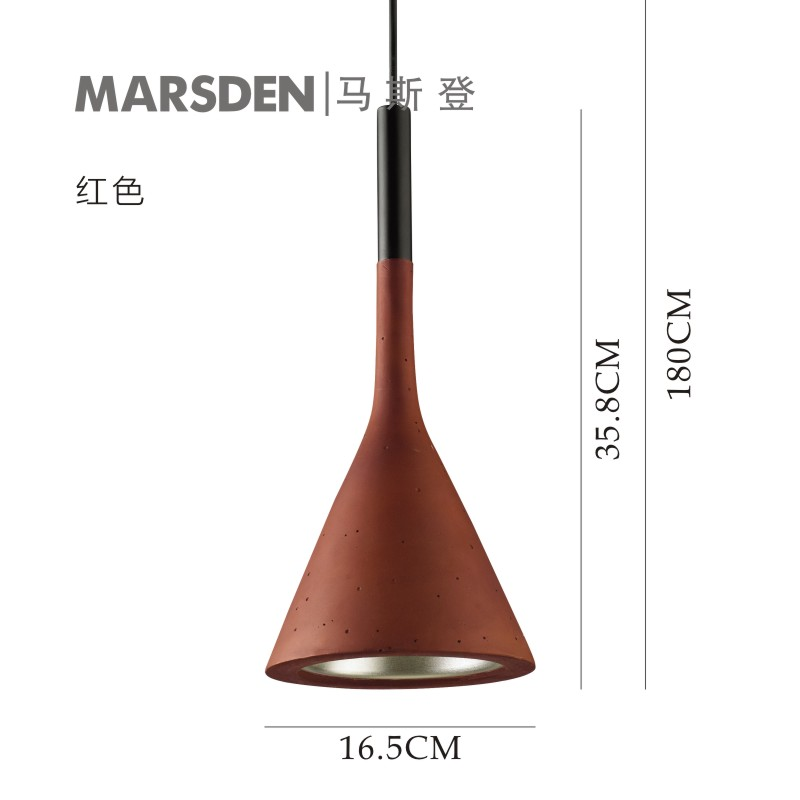 MARSDEN small pendant lamp resin lighting for dinning room,living room