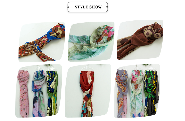 Voile popular fabric printed muslim scarf manufacture cheap hijab shawls
