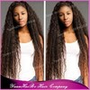 "2015 Hot Sale Top Quality! 32"" #1b kinky curly extra long virgin mongolian virgin front lace wig for black women"