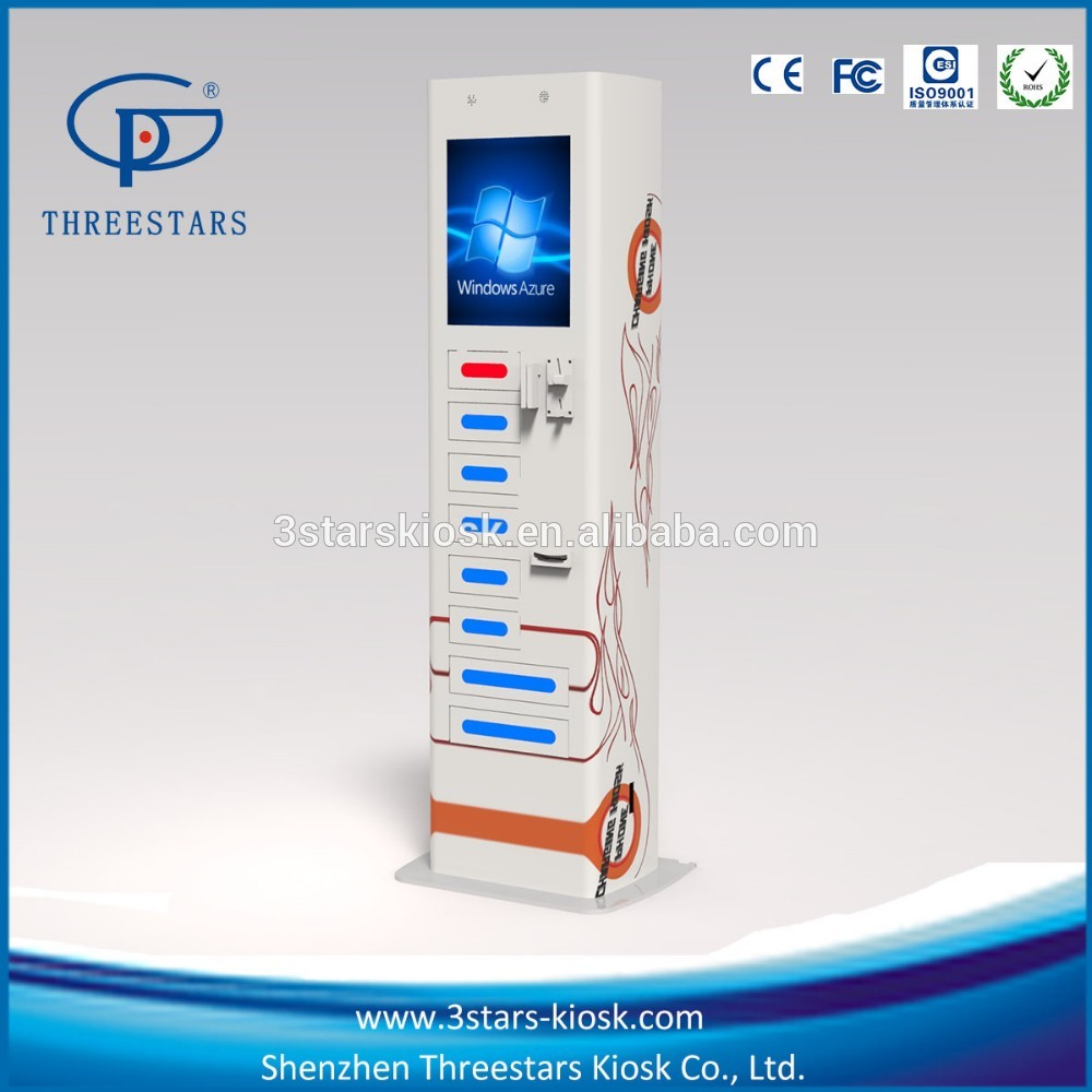 Public Application Touch Screen Cell Phone Fast Charging Kiosk Machine -  Buy E-speed Cell Phone Charging Station,Fast Charging Kiosk For