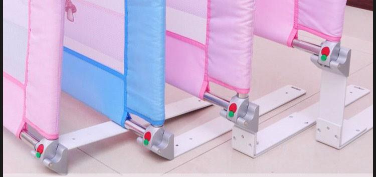 Высота регулировать сплава детская кровать дин-рейку 90 * 71 см