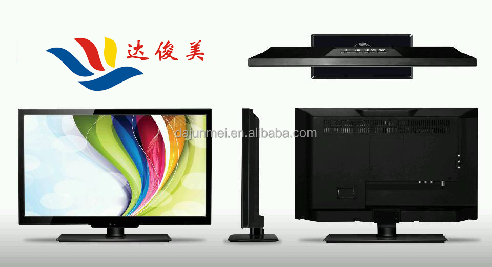 Guangzhou factory 2015Hotsale Smart Narrow Frame 3D FHD LED TV with USB Play Video lcd tv 15 17 19 inch LED LCD TV