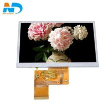5 polegada tft lcd de <span class=keywords><strong>50</strong></span> <span class=keywords><strong>pinos</strong></span> display LCD 800x480 painel
