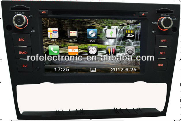 car dvd player for BMW E90 E91 E92 with android 3G function Bluetooth,GPS,Ipod steering wheel control