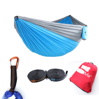Comfortable Neck Weighted Travel Camping Parachute Nylon Hammock With Logo
