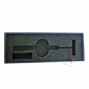 Custom Printed Logo Foam Inserts Recycled Paper Cardboard Packaging Box With Lid