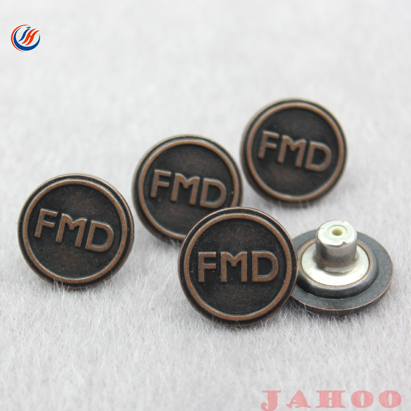 2017 Customized Iron denim jeans button,jeans rivet button