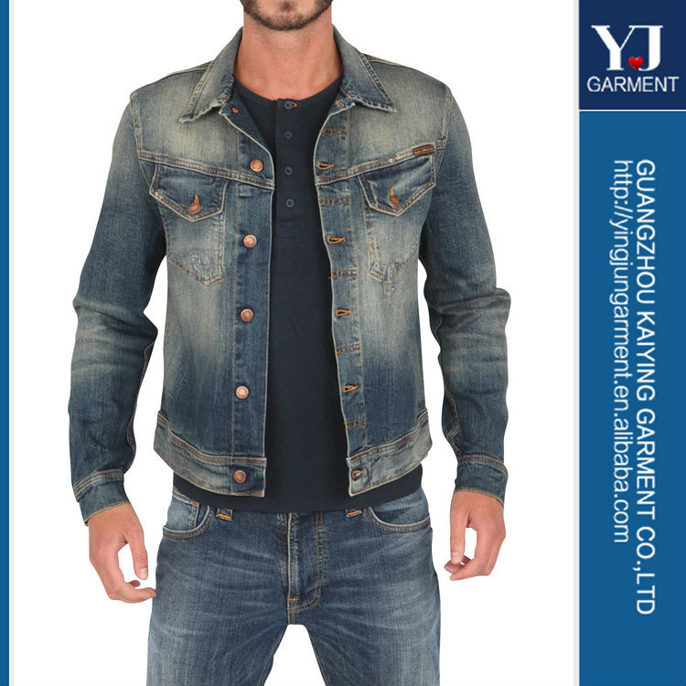High Quality Wholesale Denim Men Jacket