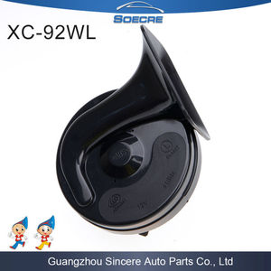 Waterproof Guangzhou Auto Spare Part Factory Klaxon Car Horn 12V Electric Horn