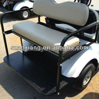 Custom Golf Cart Kits | Rear Flip Flop Seat Kit For Ezgo And ... on club car precedent flip seat, 94 ezgo flip flop seat, rxv golf carts with rear seat, complete golf cart seat,