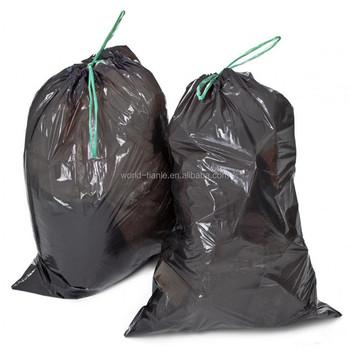 Whole Drawstring Sealing Plastic Garbage Bag Poly String Trash